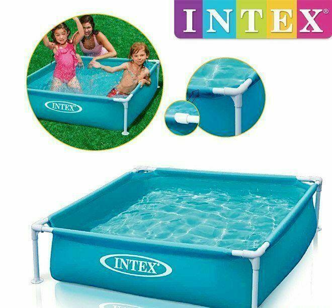Детский каркасный бассейн 57173 Intex Mini Frame Pool 122x122x30