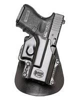 Кобура Fobus для Glock 26,27,28,33 с поясным фиксатором black (2370.16.86)