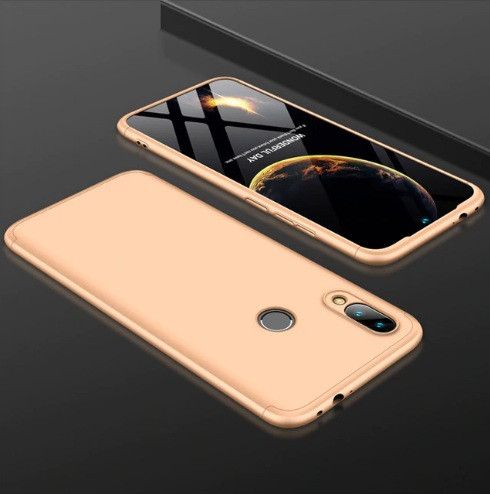 Чохол GKK для Xiaomi Redmi Note 7 / Note 7 Pro Золотий