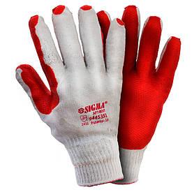 Перчатки стекольщика (манжет) Sigma 9445351