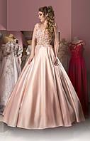 Свадебное платье розовое, фото 1