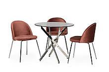 Обеденный стол T-315 прозрачный Ветро