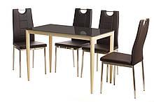 Обеденный стол Т-300-11 шоколад Ветро