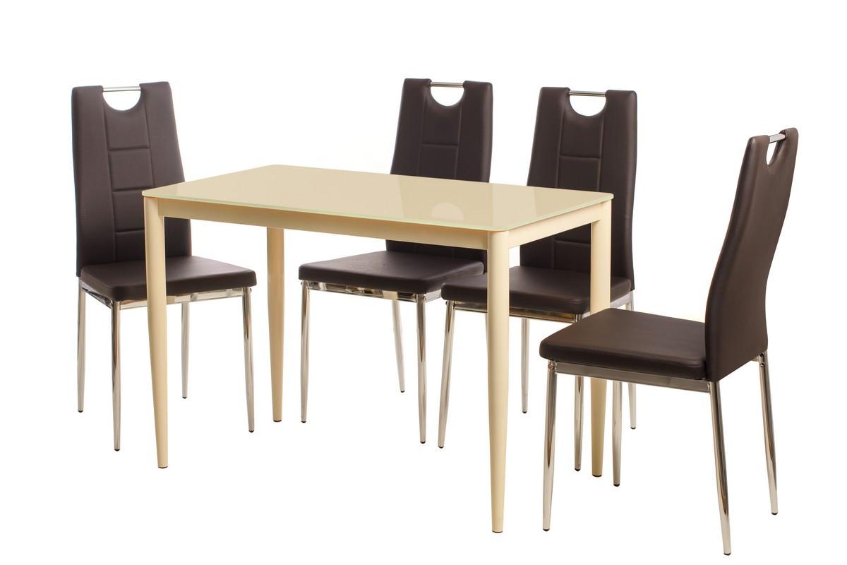 Обеденный стол Т-300-11 молочный