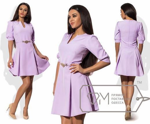 """Элегантное женское платье ткань """"Хлопок+Стрейч"""" 42, 44 размер норма 42, фото 2"""