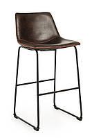 Барный стул B-14-2 блестящий коричневый, фото 1