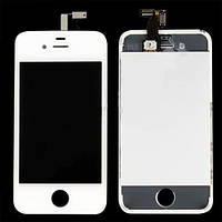 Модуль LCD iPhone 4 + Touchscreen (white) high copy