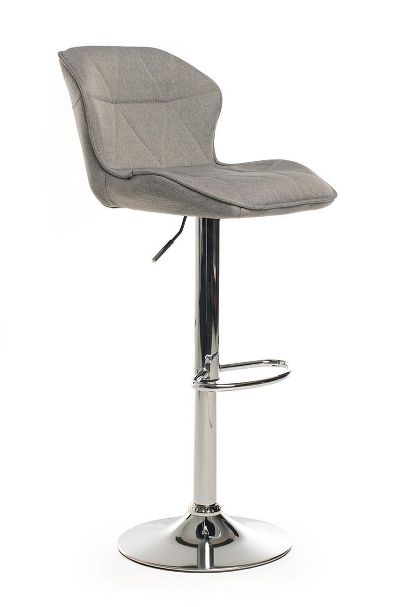 Барный стул B-70 серый(ткань)