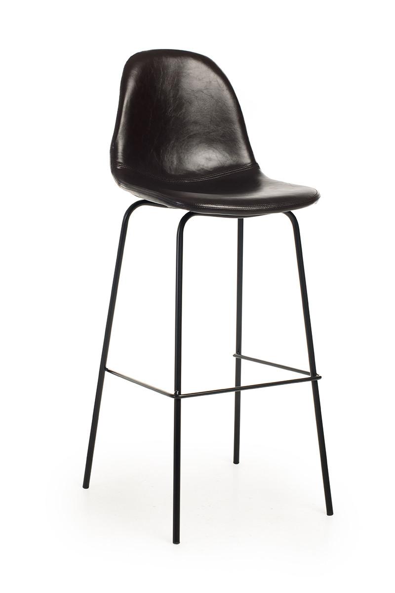 Барный стул B-15 тёмный шоколад