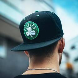 Снепбэк кепка мужская Boston Celtics прямой козырек