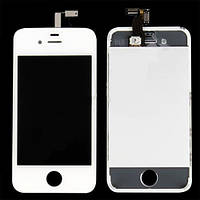 Модуль LCD iPhone 4S + Touchscreen (white)