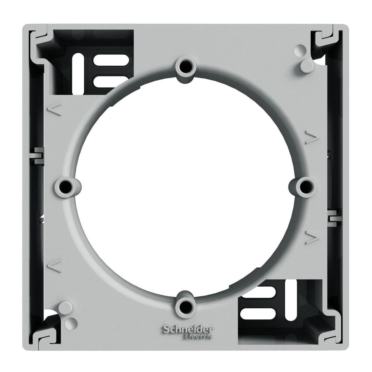 Коробка для наружного монтажа 1-постовая Алюминий Schneider Asfora EPH6100161