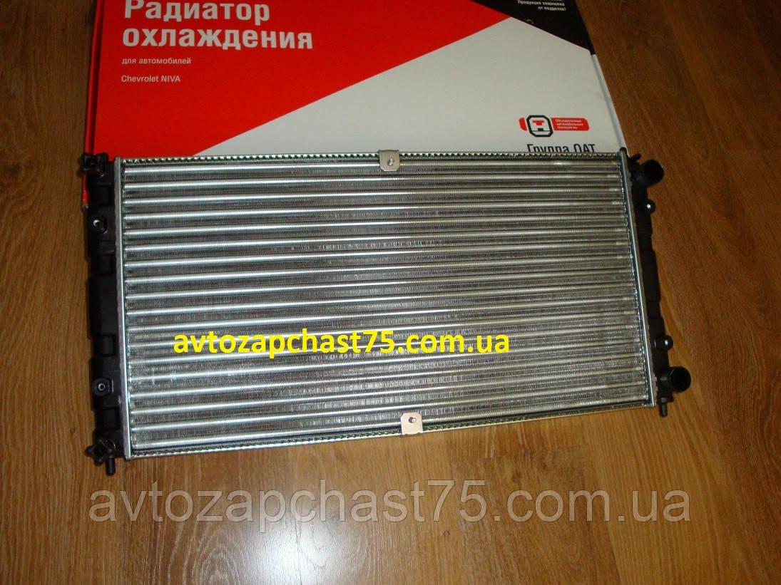 Радиатор ваз 2123, нива-шевроле, ваз 21230 (производитель ОАТ ДААЗ, Россия)