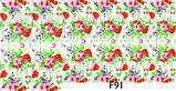 Слайдер дизайн для ногтей цветочные, фото 7