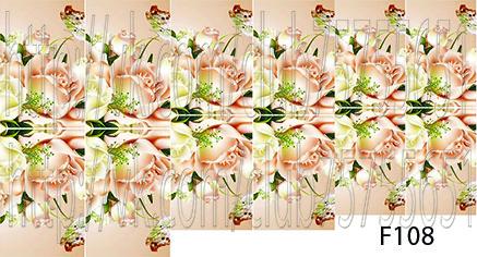 Слайдер дизайн для ногтей цветочные