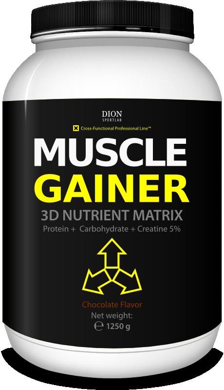 Гейнер Dion Sportlab Muscle Gainer 1250g