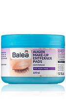 Balea влажные салфетки для снятия макияжа Augen Make-up Entfernerpads ölfrei 50шт