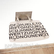Сиденье для душа Ravak Ovo B Decor Text