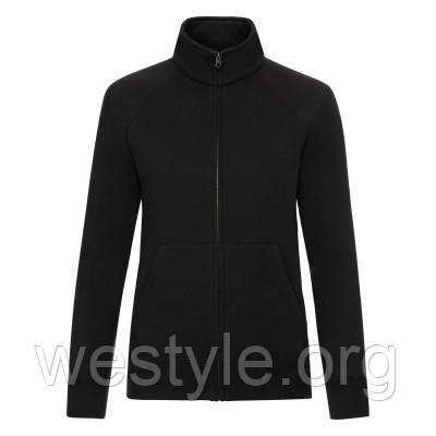 Куртка-толстовка женская - 62116-36 черная