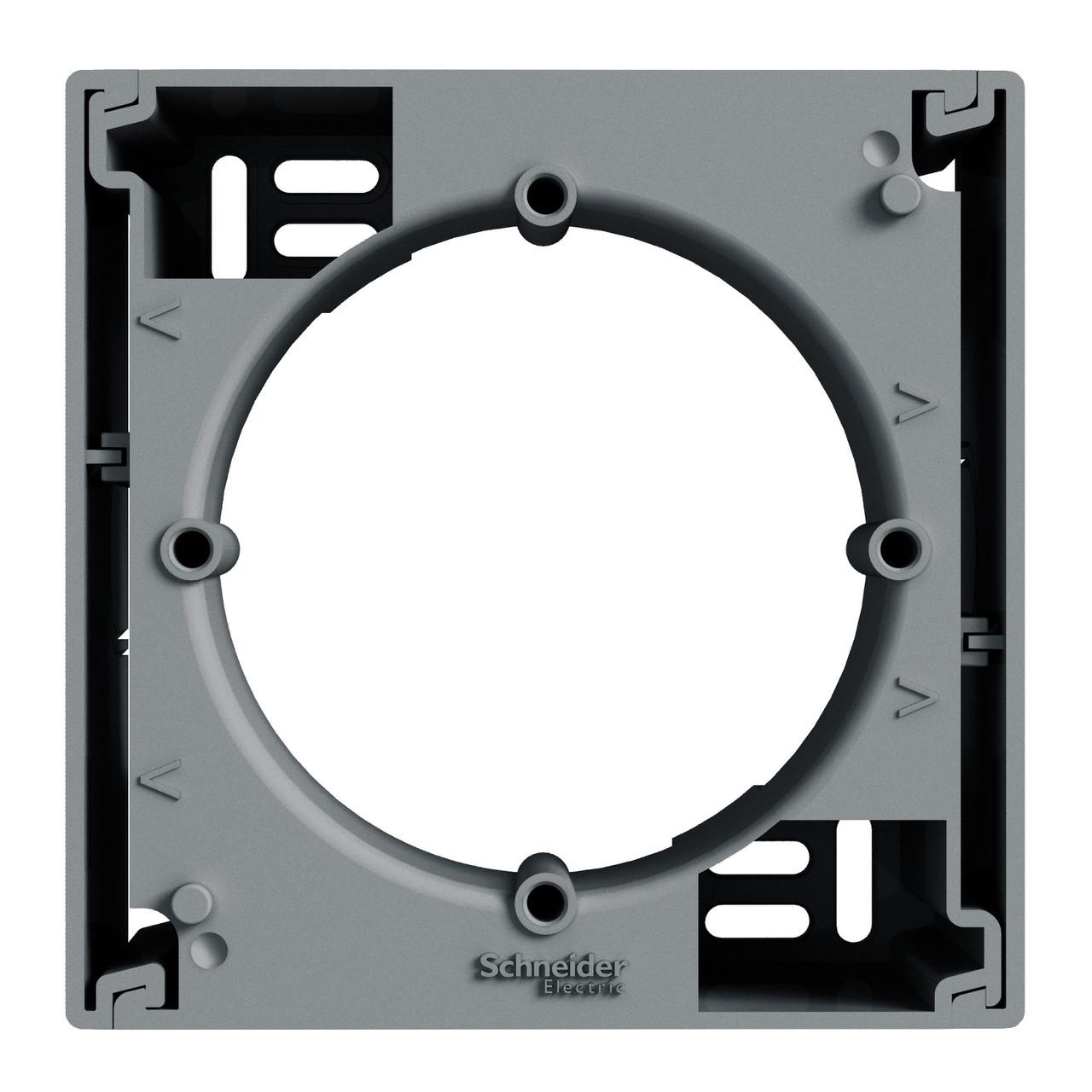 Коробка для наружного монтажа 1-постовая Сталь Schneider Asfora EPH6100162