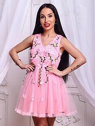 Женское летнее нарядное платье Фабричный Китай (Люкс качество) РАЗНЫЕ ЦВЕТА