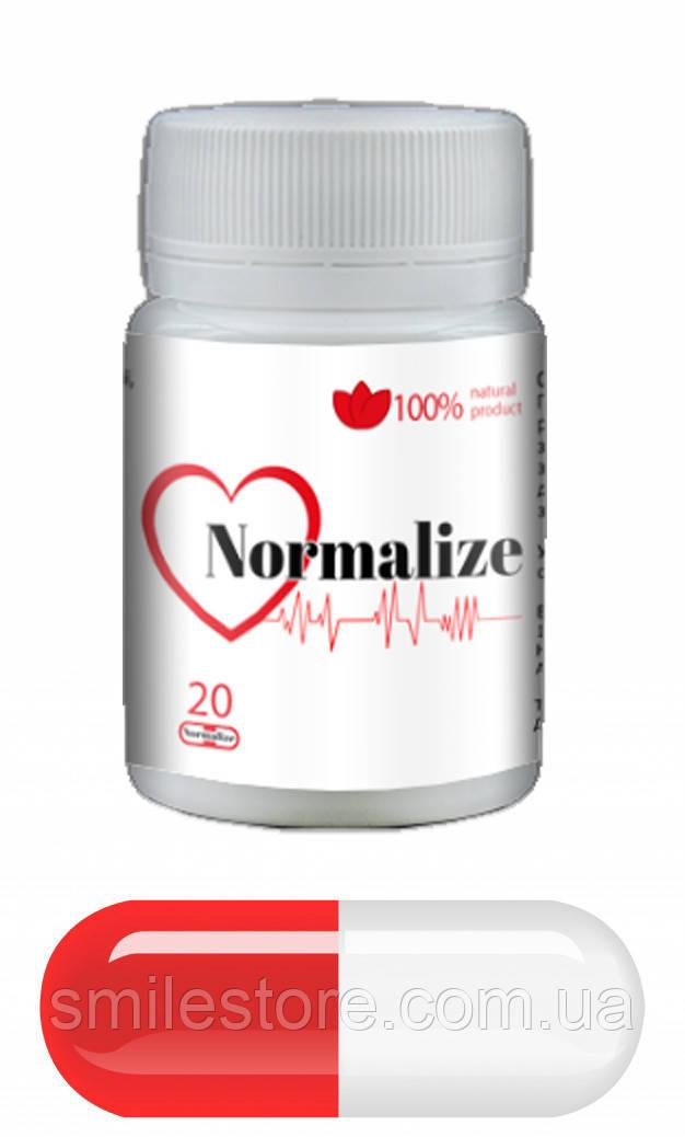 Normalize(Нормалайз). Натуральный препарат от гипертонии.