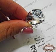 Перстень чоловічий зі срібла Скорпіон