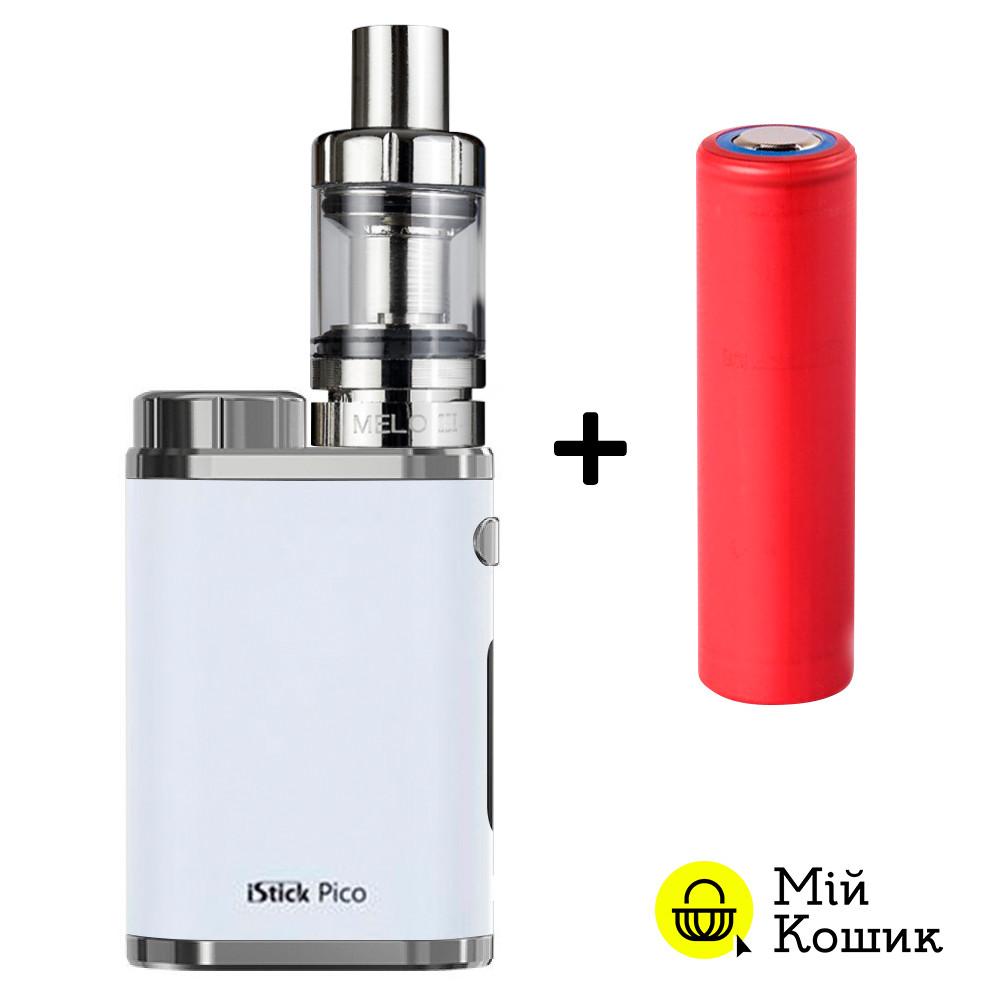 Eleaf iStick Pico 75 w ( Вейп АйСтик Пико 75 Вт ) электронная сигарета белая (реплика)