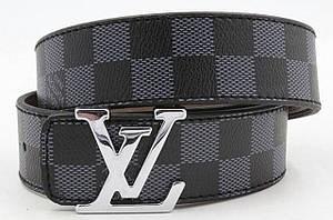 Ремень пояс Louis Vuitton Black  (копия Луи Витон) black