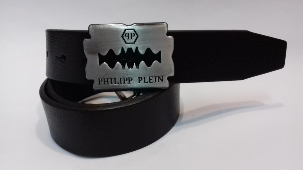 Ремень кожаный мужской Philipp Plein (реплика)