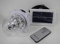 Лампа на солнечных батареях для любителей туризма