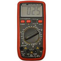 Мультиметр цифровий VC 61 , тестер, амперметр, вольтметр, фото 1