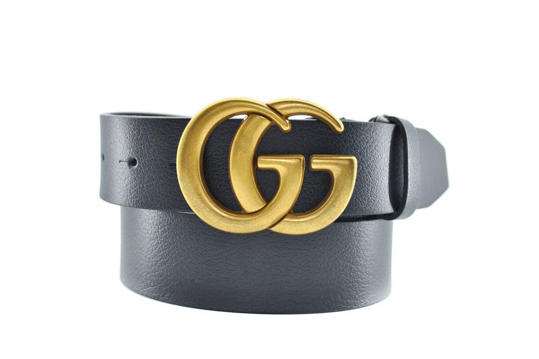 Ремень кожаный Gucci (реплика)