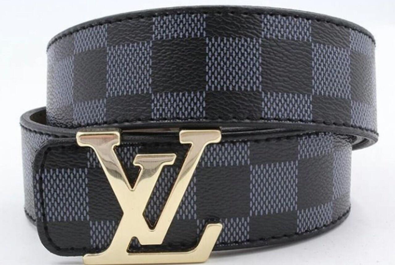 Ремінь на пояс Louis Vuitton Black (копія Луї Вітон) black