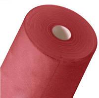 Одноразовая простынь в рулоне Спанбонд Doily 25 г/м² 0,8x100 м Красная