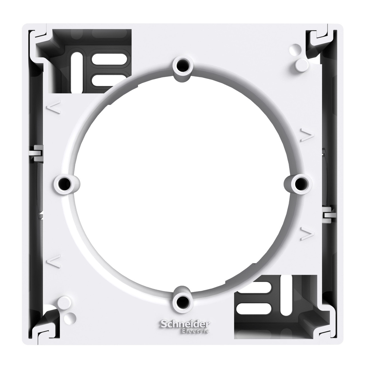 Коробка для наружного монтажа 1-постовая белая Schneider Asfora EPH6100121