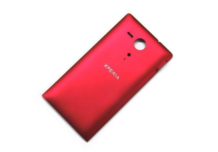 Задняя крышка Sony C5302 Xperia SP M35h/C5303, красная Оригинал