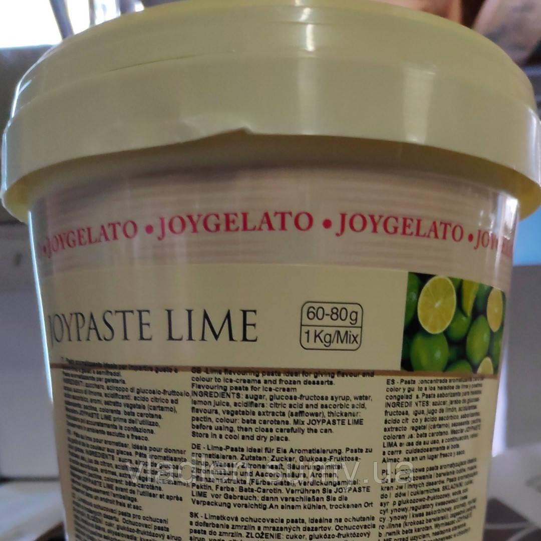 """Натуральная паста со вкусом лайма """"Joypaste Lime"""", Италия (фасовка 1,2 кг)"""