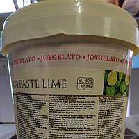 "Натуральная паста со вкусом лайма ""Joypaste Lime"", Италия (фасовка 1,2 кг), фото 1"