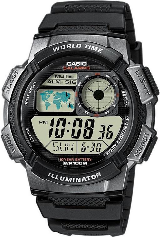 Годинник чоловічий CASIO AE-1000W-1BVEF