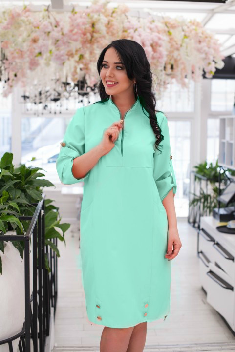 Нежное женское платье ткань *Костюмная* 48 размер батал
