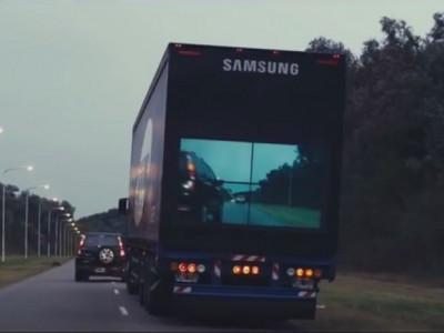 Samsung зменшить число автомобільних аварій за допомогою безпечних вантажівок
