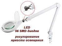 8066LED Лампа-лупа с регулировкой яркости 3D, фото 1