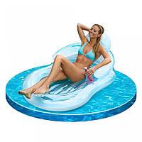 Матрас надувной для плавания одноместный Intex 155 х 97 см