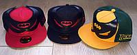 Кепки Batman в стиле хип-хоп