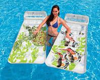 Матрас надувной для плавания одноместный Intex 188 х 71 см