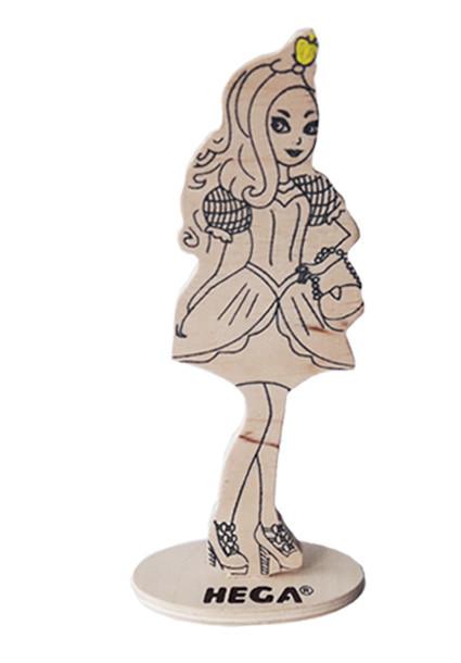 Лялька HEGA Еппл Уайт з декором