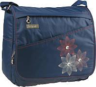 Молодежная  тканевая сумка Beauty‑2 K15-865-2K синий