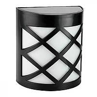 Настенный солнечный светильник 6LED черный VARGO (V-107902)