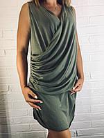 Платье женское летнее 8850 оливковое
